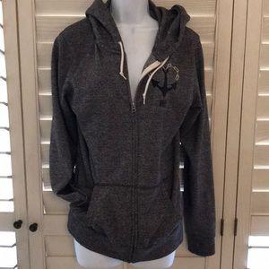 Obey zip up sweatshirt
